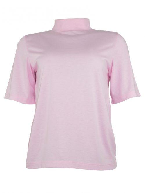 camiseta vintage gola alta